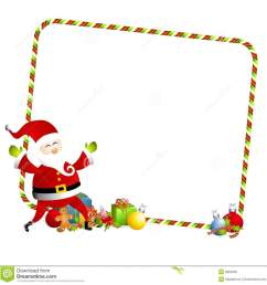 christmas present border clipart [ 1300 x 1348 Pixel ]