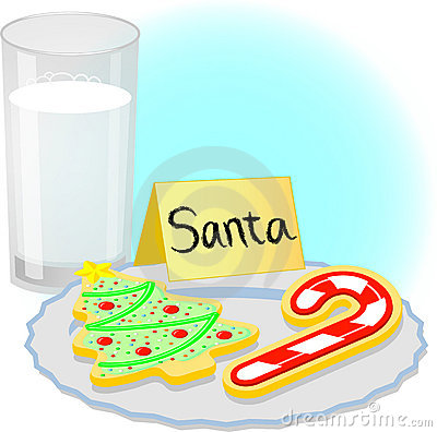 plate of christmas cookie clip