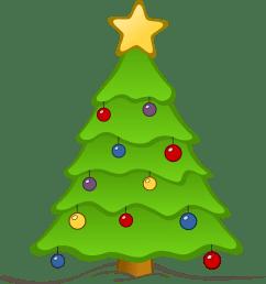 christmas tree clip art [ 3333 x 3575 Pixel ]