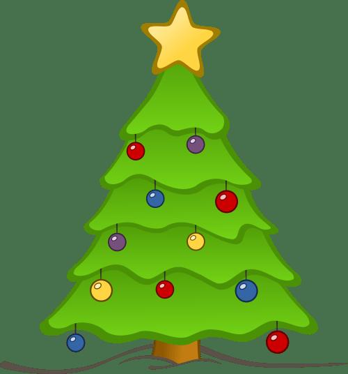small resolution of christmas tree clip art