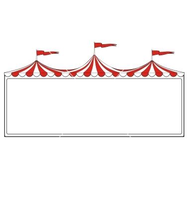 circus border clipart