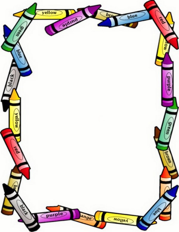 clip art borders and frames clipart