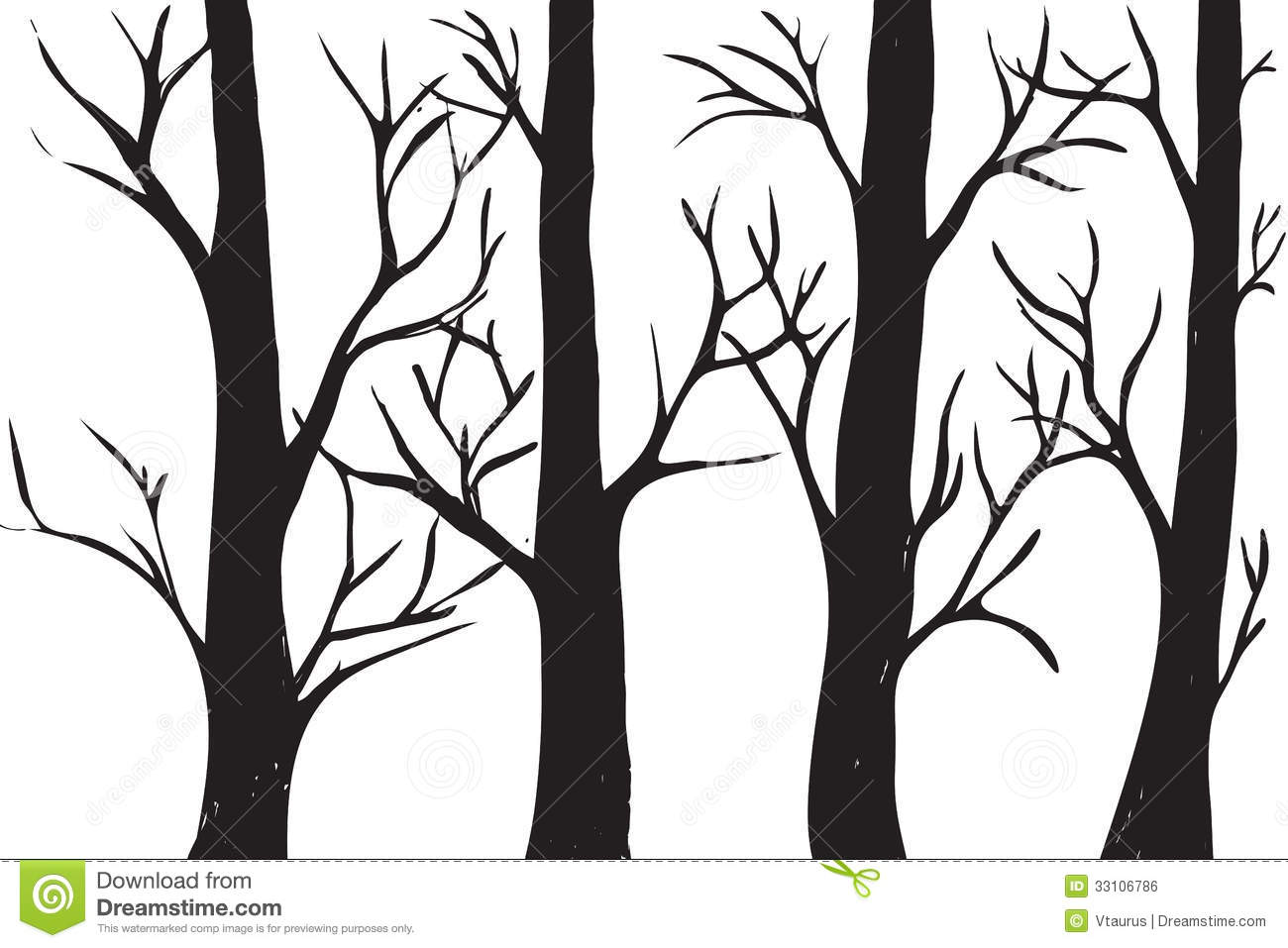 Of Trees Without Leaves Clipart Panda