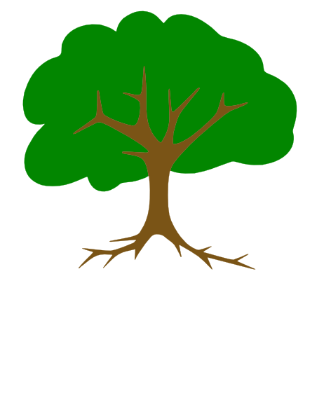 clip art tree with