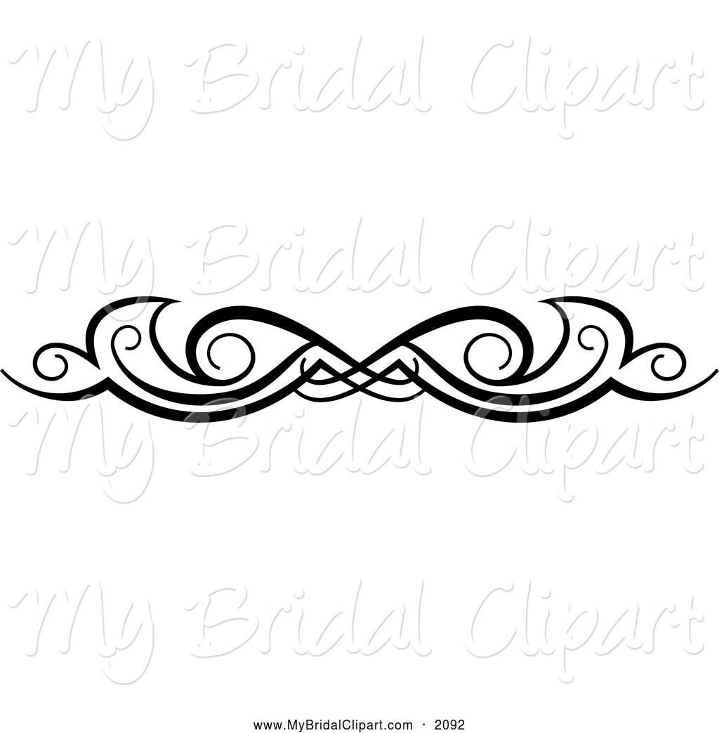 Black And White Wedding Dress Clipart