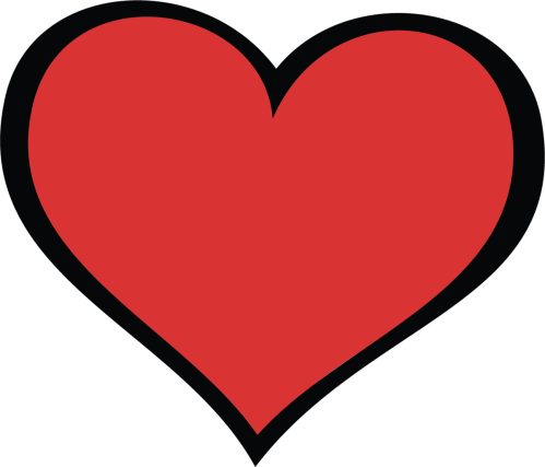small resolution of clipart love heart