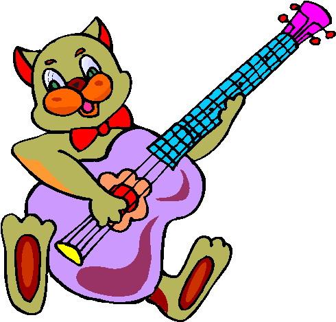 clipart music notes panda