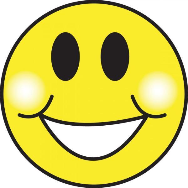 clip art smiley face clipart