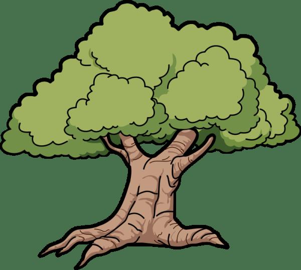 clip art tree trunk clipart panda