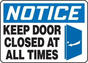 Clip art keep door closed