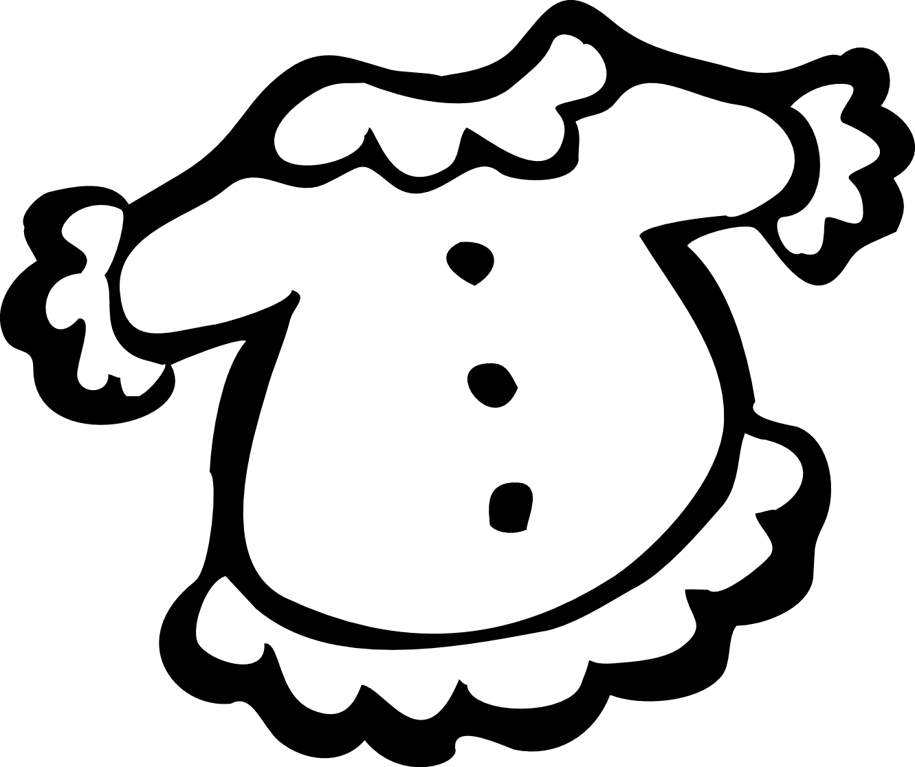 Clothes Clipart Black And White Clipart Panda
