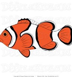 clownfish clip art [ 1024 x 1044 Pixel ]