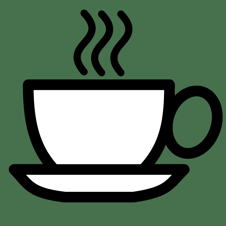 coffee clip art black
