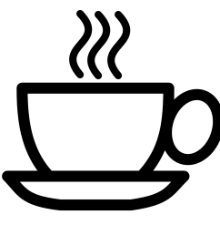 coffee clip art [ 1332 x 1332 Pixel ]