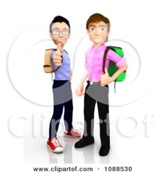 3d Male College Boys Clipart Clipart Panda Free Clipart Images