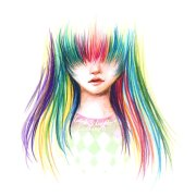 colored pencils drawings clipart