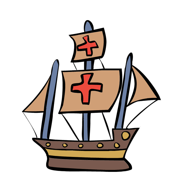 This page includes clip art images of queen isabella i and king ferdinand v, christopher columbus, the niña, … Columbus Day Clipart | Clipart Panda - Free Clipart Images