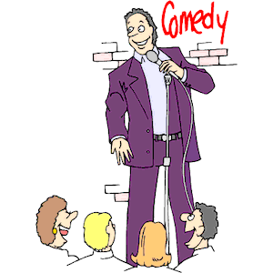 Image result for comedian clipart