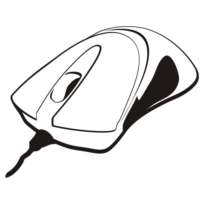 Computer Mouse Vector Clipart Panda