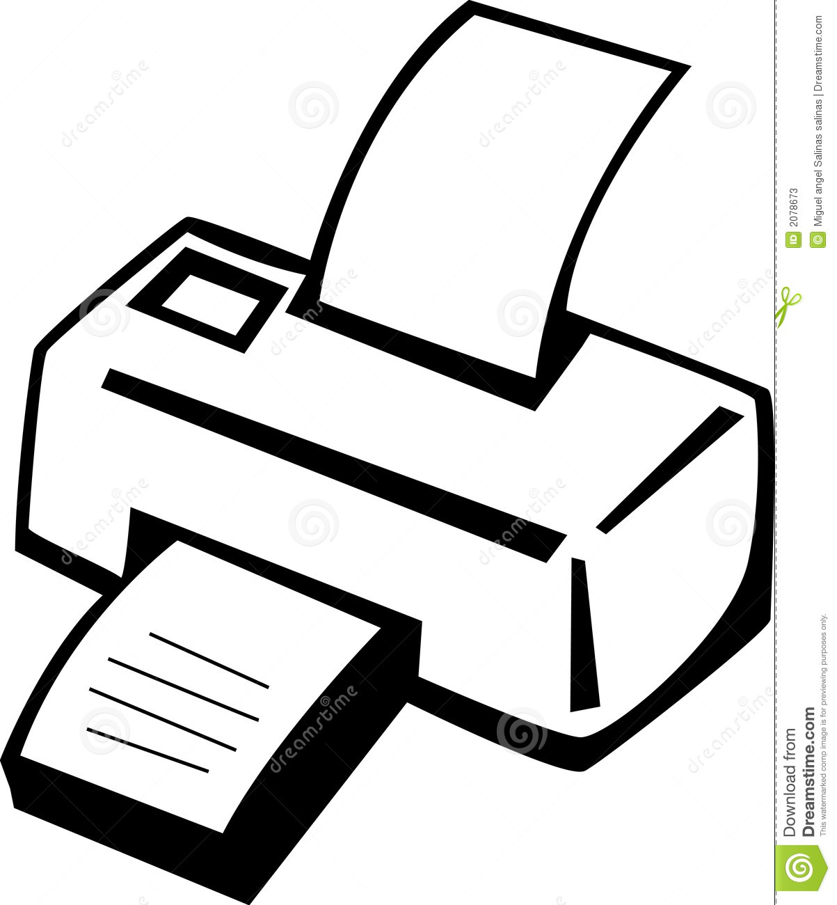Computer Printer Clipart Clipart Panda