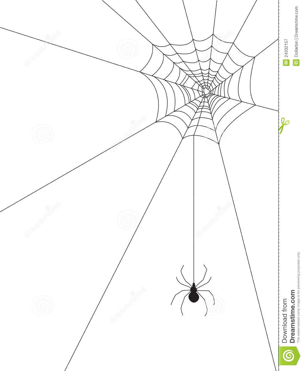 Spider Web And Spider On Clipart Panda
