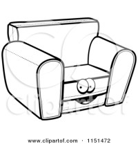 Pics For > Cartoon Sofa Chairs