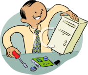 computer engineer clipart