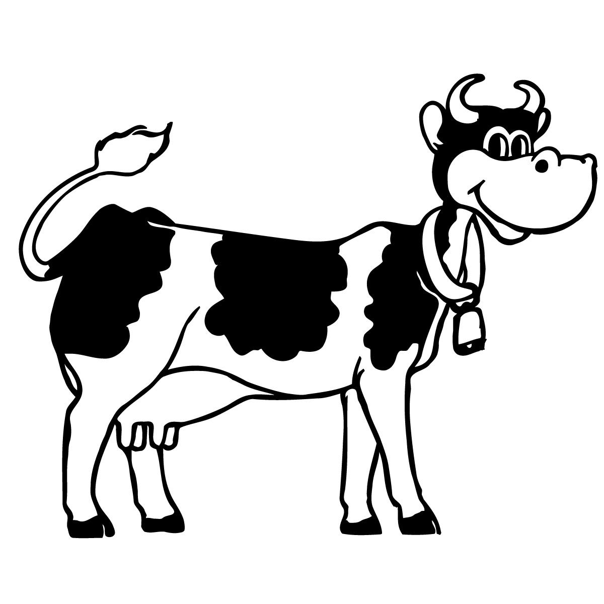 Cow Clip Art Black And White Clipart Panda