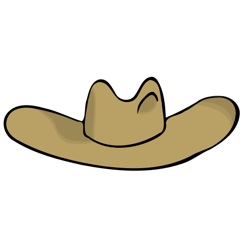 small resolution of cowboy hat clipart