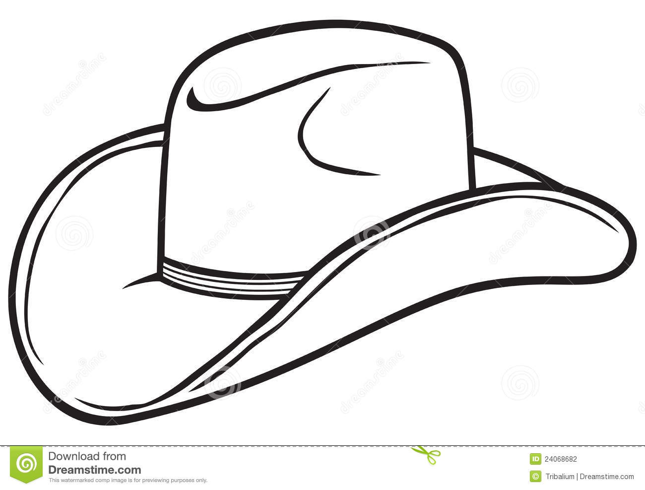 Cowboy Roping Clipart Black And White