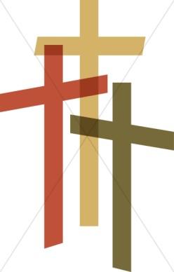 Three Crosses Clip Art  Cliparts