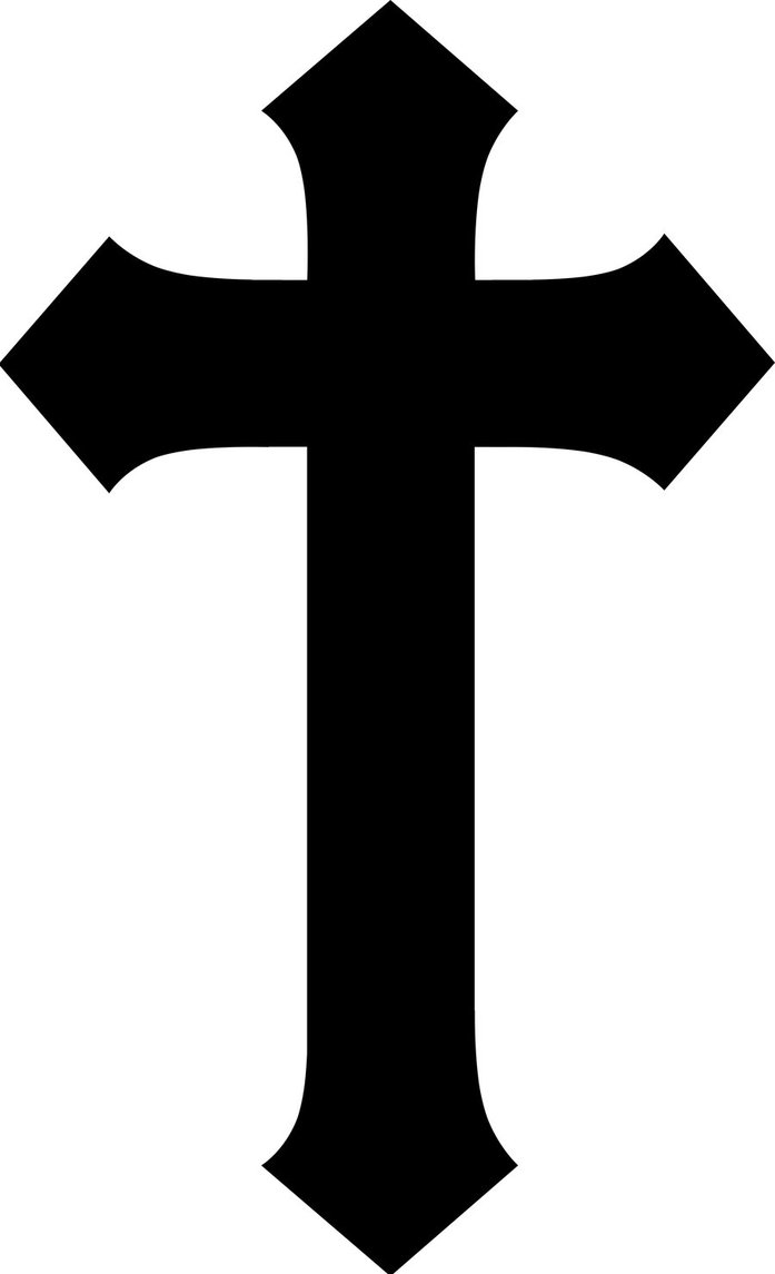 hight resolution of cross clipart