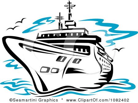 dinner cruise clipart