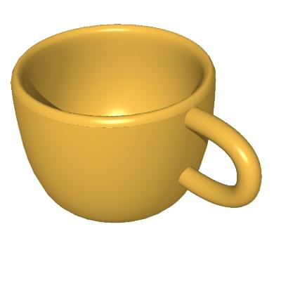 cup clipart panda - free