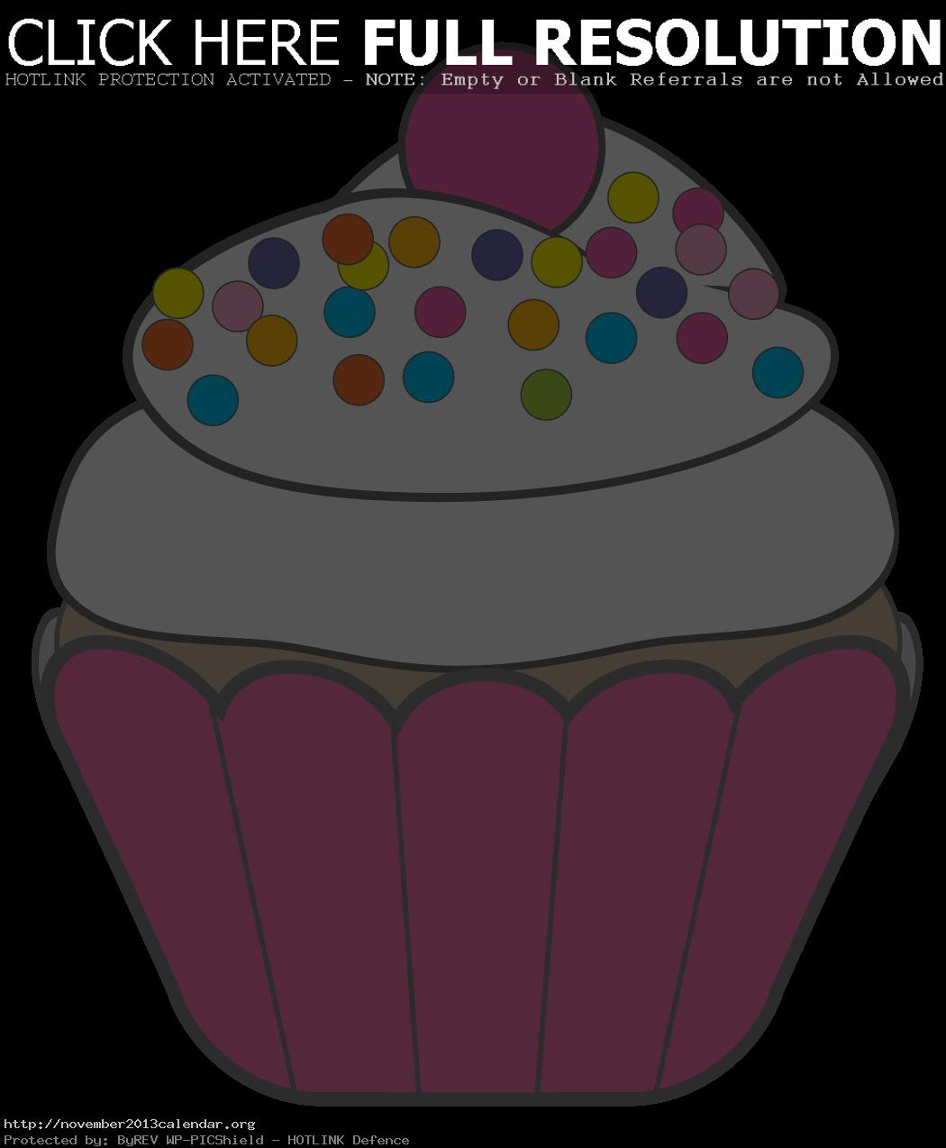 hight resolution of cupcake clip art