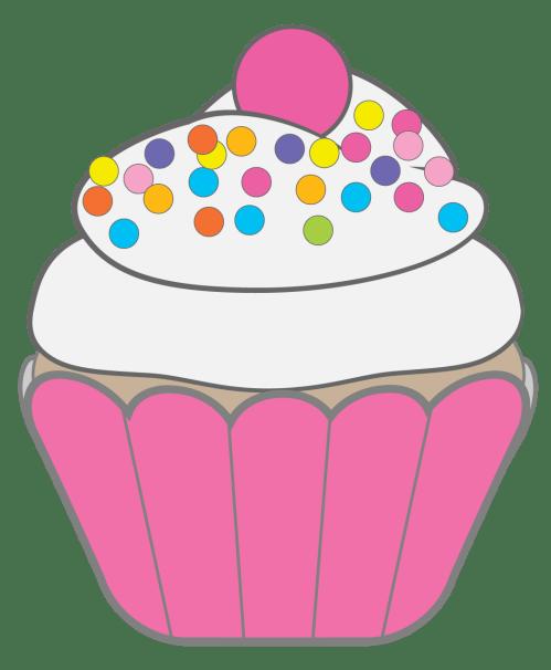 small resolution of cupcake clip art