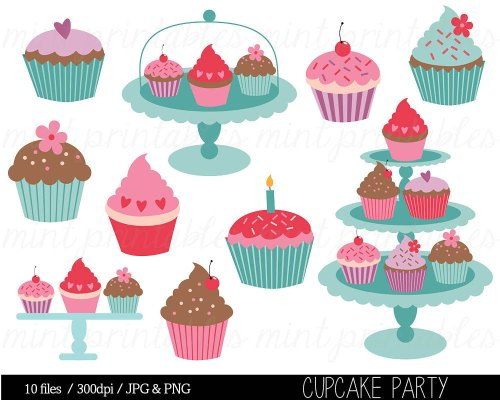 small resolution of cupcake clipart