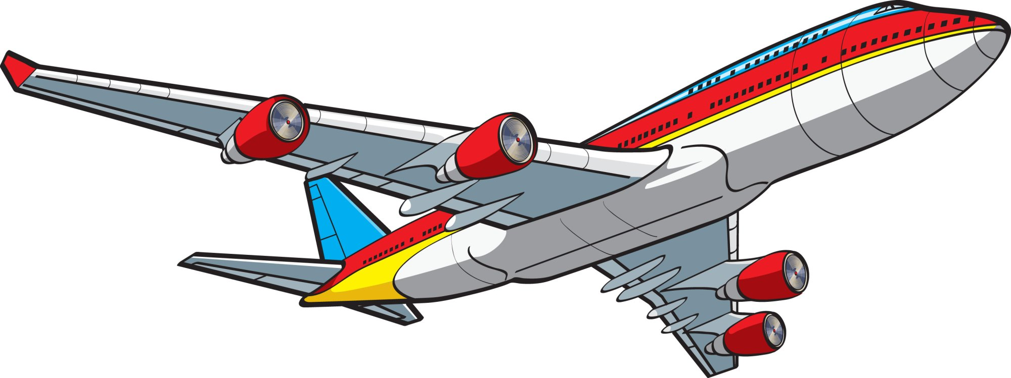 hight resolution of cute airplane clipart