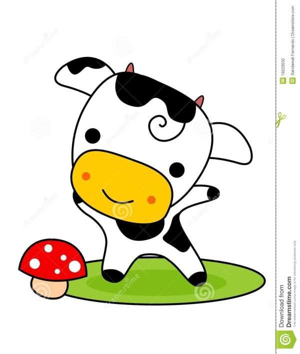 Cute Cow Clip Art