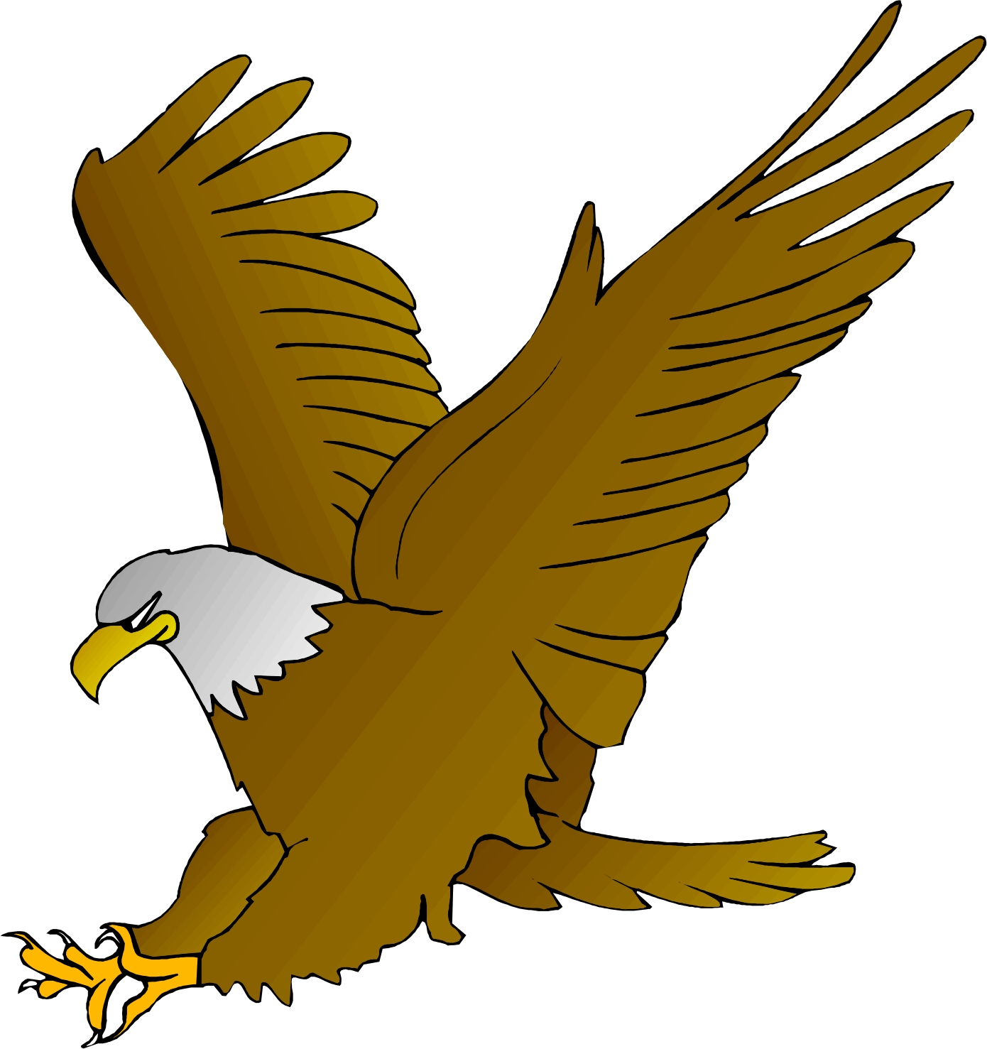 eagle wing diagram healthy plate cute clipart panda free images