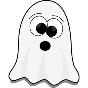 cute halloween ghost clip art