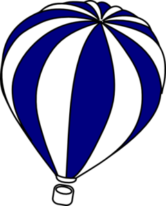 cute hot air balloon drawing