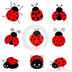 ladybug drawing pencil cartoon drawings ladybugs clipart illustration panda