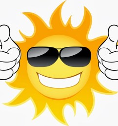 cute sun with sunglasses clipart [ 1000 x 847 Pixel ]