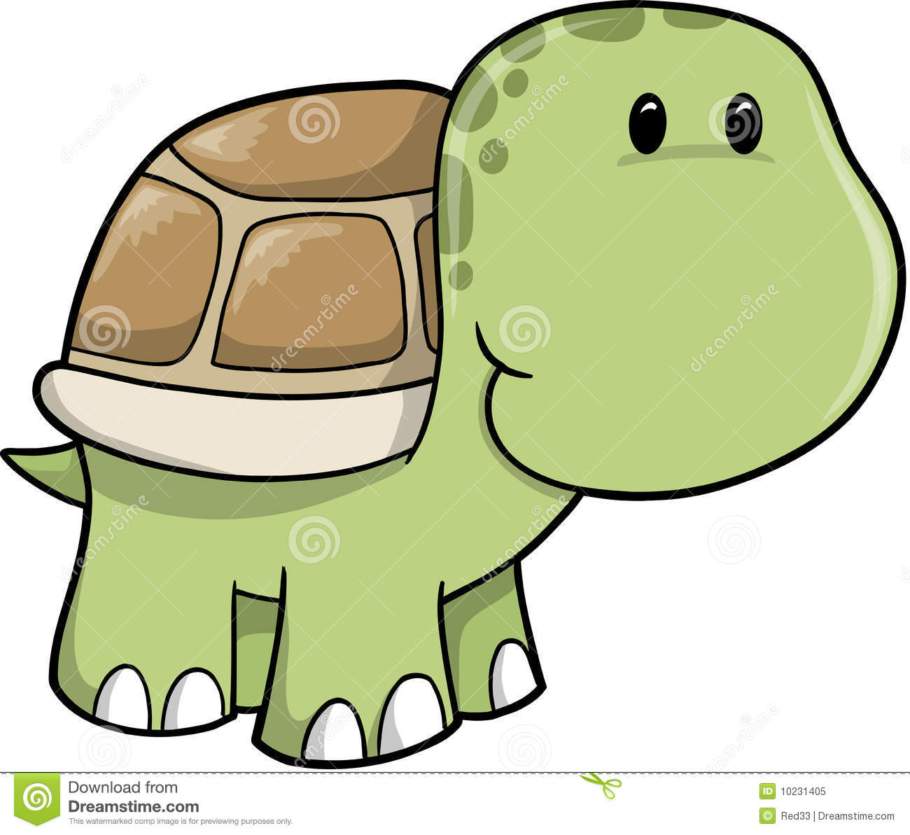 hight resolution of cute turtle clip art