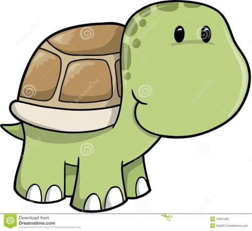 small resolution of cute turtle clip art