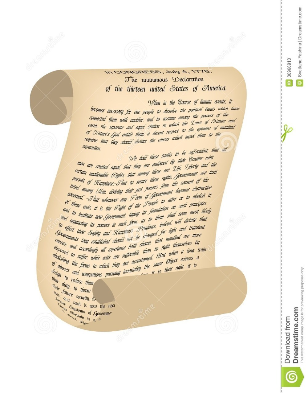 medium resolution of declaration clipart