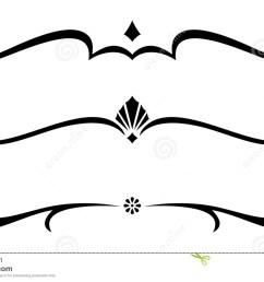 decorative line clipart [ 1300 x 859 Pixel ]