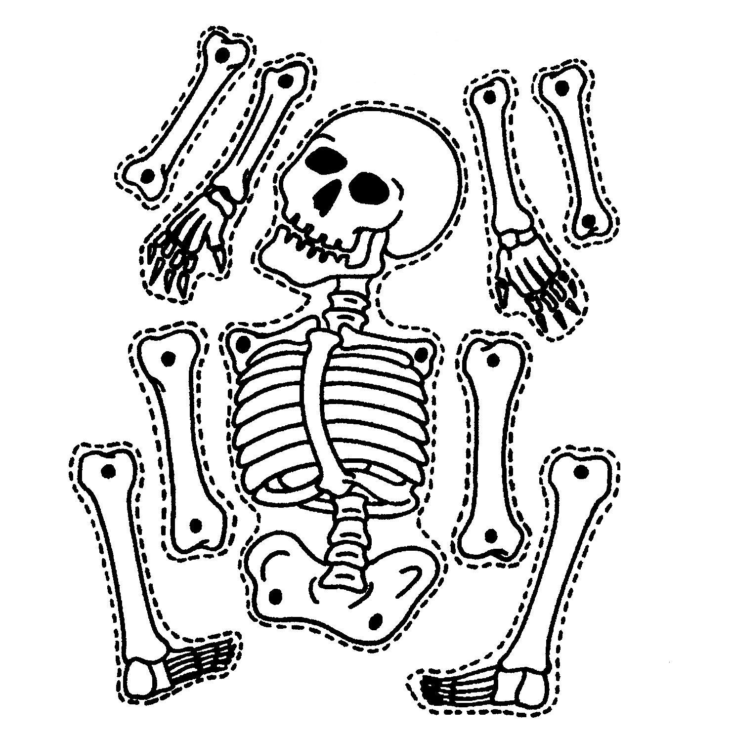 Halloween Skeleton Clipart Clipart Panda