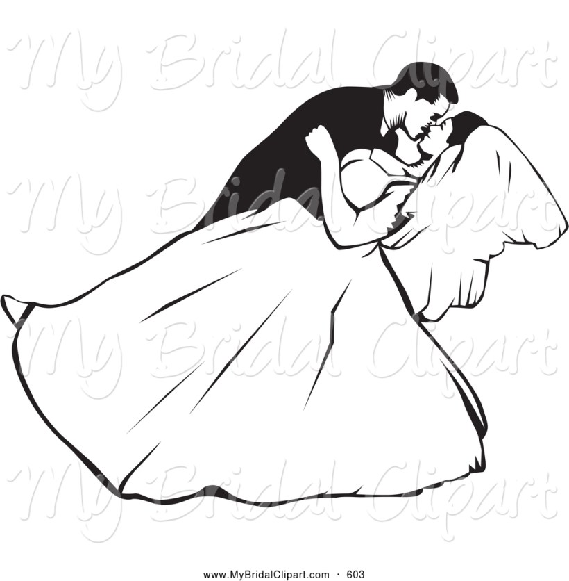 Wedding Clipart Black And White Panda Free Images